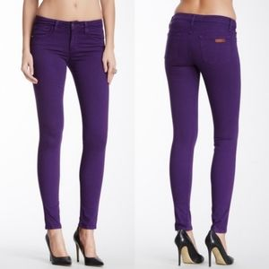 Joe's Jeans Visionaire Skinny Stretch in Acai 30